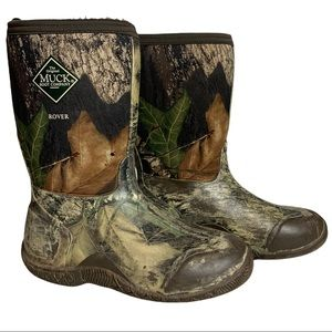The Muck Company Kids Rover Camouflage Boots Size US 5